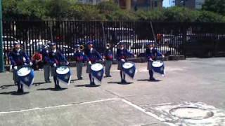 Banda de Guerra unicornios,  Alberca Olimpica