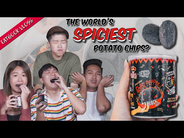 We Tried The Infamous Ghost Pepper Chips | Eatbook Vlogs | EP 59