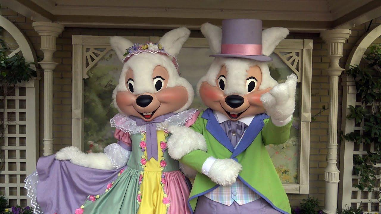 Mr mrs easter bunny meet greet magic kingdom walt disney mr mrs easter bunny meet greet magic kingdom walt disney world m4hsunfo