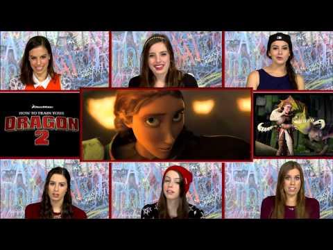 Cimorelli How To Train Your Dragon Trailer Reaction