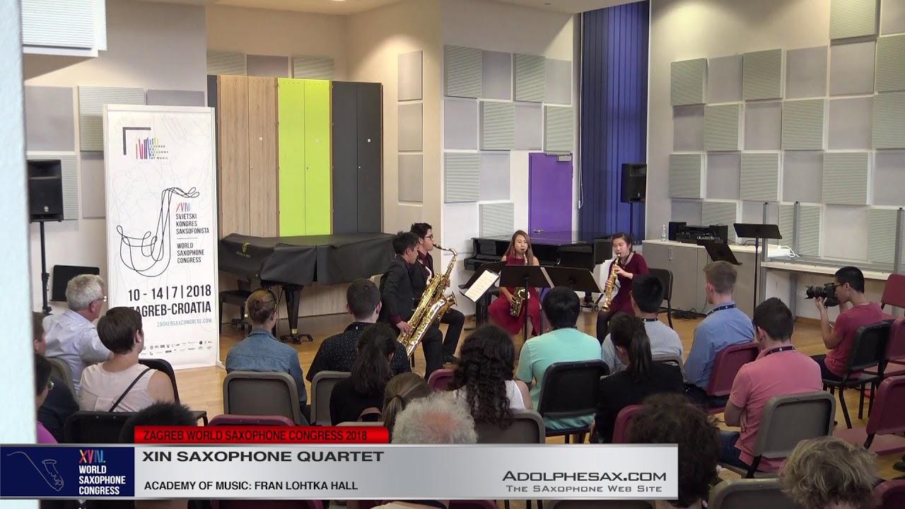 Sax Drive! by Daniel Yiau   Xin Saxophone Quartet   XVIII World Sax Congress 2018 #adolphesax