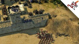 Stronghold Crusader 2 - Connor vs SergiuHellDragoonHQ | Multiplayer Gameplay