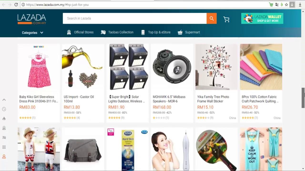 Online Shopping 2020 Lazada Malaysia YouTube