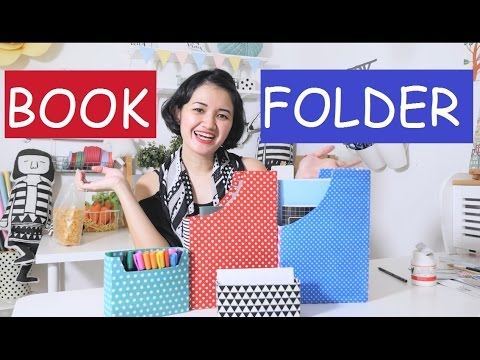 DIY Magazine & Book Folder | MARTHA PURI - Ideku Handmade (Bahasa Indonesia)