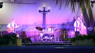 The Firebirds perform Blue Suede Shoes at the bandstand in Eastbourne Thumbnail