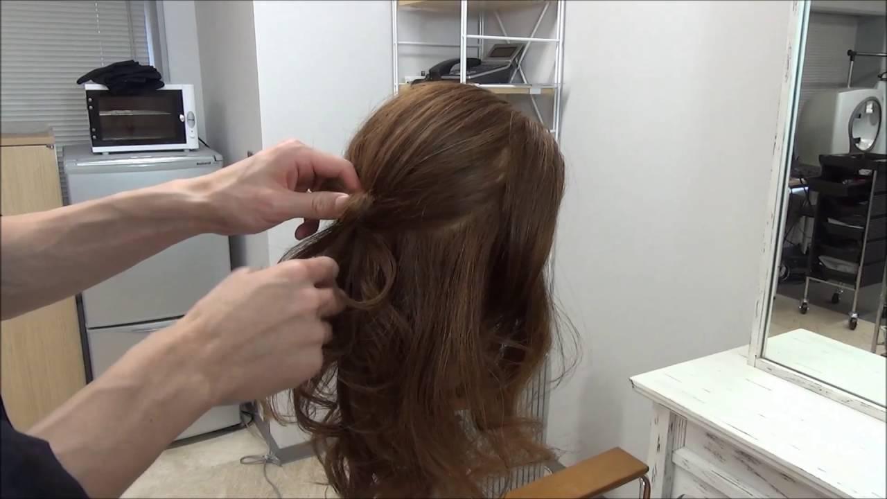 R Style Hair Studio: BLANCO MICHAELA #13 Half-up Hair Bow /Tokyo Hair Style