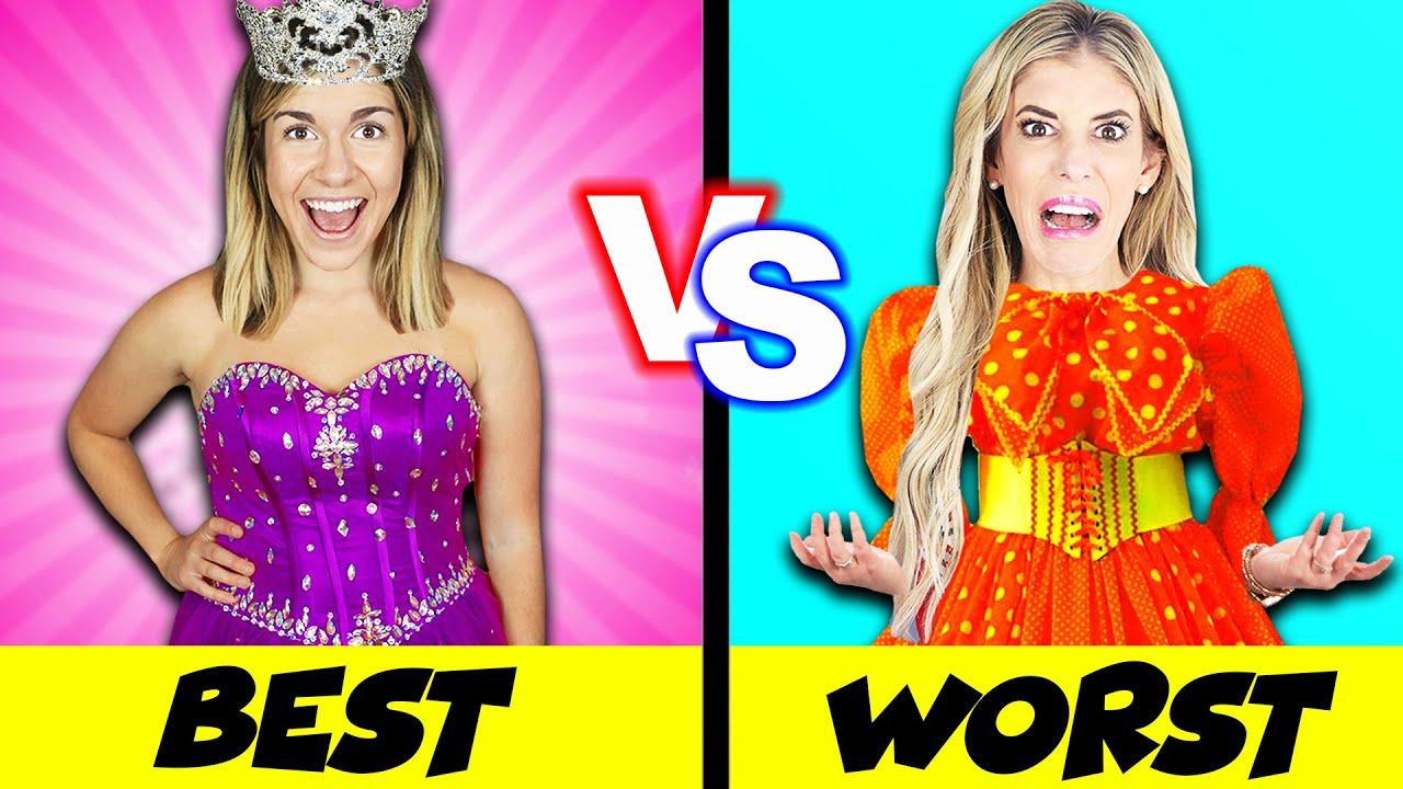 Worst Prom Dress VS Best Prom Dress Prank Challenge