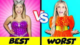 Worst Prom Dress VS Best Prom Dress Prank Challenge