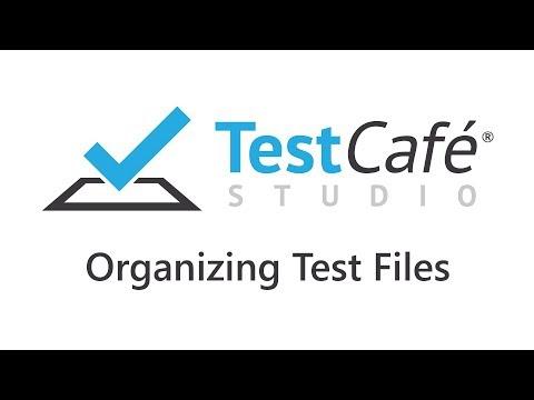 TestCafe Studio: Organizing Test Files - YouTube