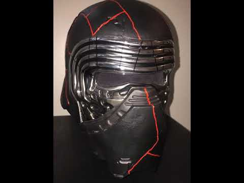 Kylo Ren Helmet Damage The Rise Of Skywalker Youtube
