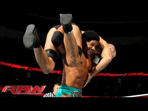 The Prime Time Players vs. The Real Americans: Raw, August 19, 2013