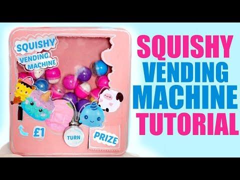 DIY SQUISHY VENDING MACHINE
