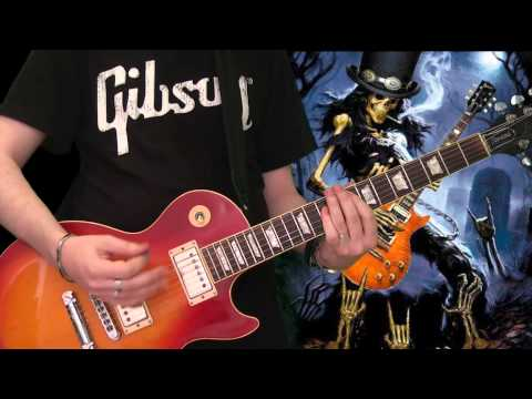 Slash & Myles Kennedy – 30 Years To Life (full guitar cover)