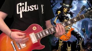Slash & Myles Kennedy - 30 Years To Life (full guitar cover)