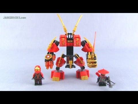 lego ninjago kai-s fire mech 70500 set review!