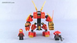lego ninjago kai-s fire mech 70500 set review!