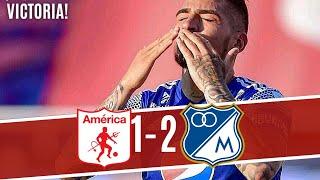 Duro Golpe De Millonarios Contra El America De Cali! Millonarios 2 America 1