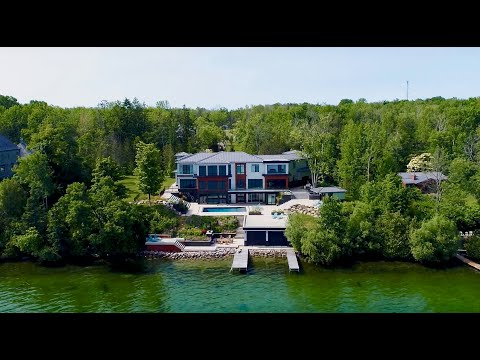$9 Million - Barrie Waterfront Cottage - Daily Real Vlog x Andrew Perrie x David Brook - DroneHub