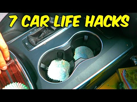 7 Easy Car Life Hacks