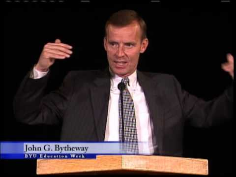 Education Week 2008 - John Bytheway - Weed Your Spirit, Grow Your Testimony