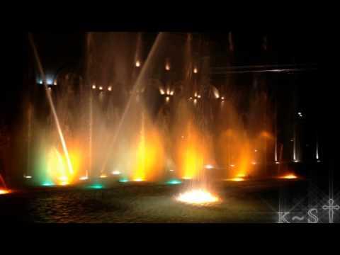 Танцующие фонтаны в Ереване