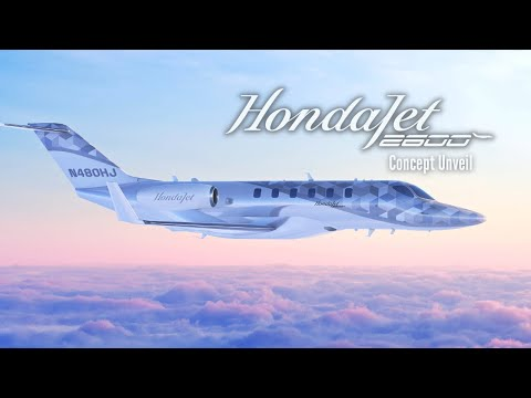 Unveiling the HondaJet 2600 Concept | The Innovation Is Not Over Yet
