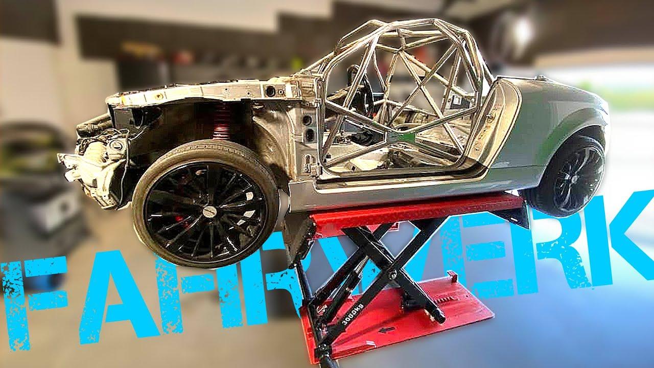 Scherenhebebühne für mein Buggy Projekt X?!   Aufbau und erste Sicht unter den AUDI TT