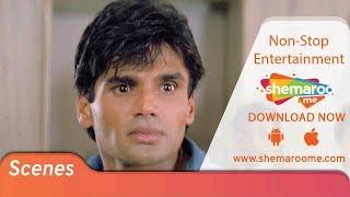 Famous Suneil Shetty & Mohnish Bahl Fight Scene from RAGHUVEER | 90's Best Action Movie
