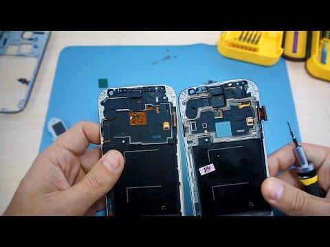 Замена дисплея Samsung Galaxy S4 I9500. Модуль экрана в сборе с Aliexpress.