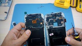 замена дисплея Samsung Galaxy S4