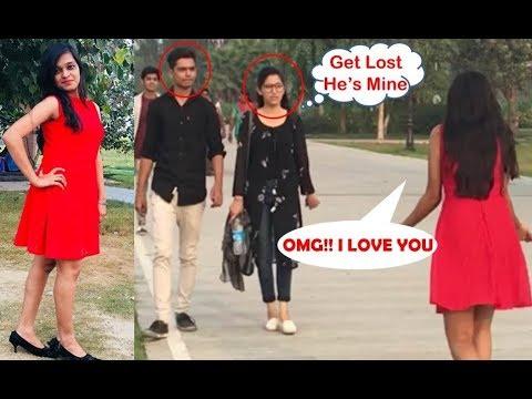 """HOT Girl """"I LOVE YOU"""" Prank In India 2017 [] Prank Gone Romantic [] SOS"""