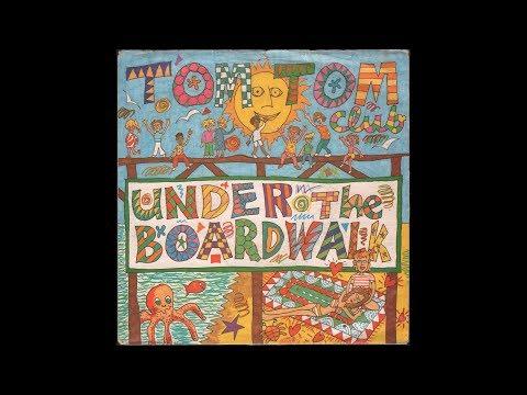 """Tom Tom Club - Under The Boardwalk (1982) full 7"""" Single"""