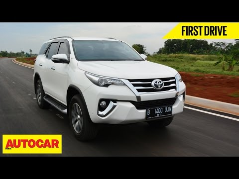 Toyota Fortuner First Drive Autocar India