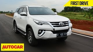 Toyota Fortuner | First Drive | Autocar India thumbnail