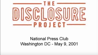 2001 National Press Club Event - Dr. Steven Greer .On Wednesday, May 9th, 2001, over twenty military, intelligence, government, corporate and scientific witnesses came forward at the National Press Club in ..., From YouTubeVideos