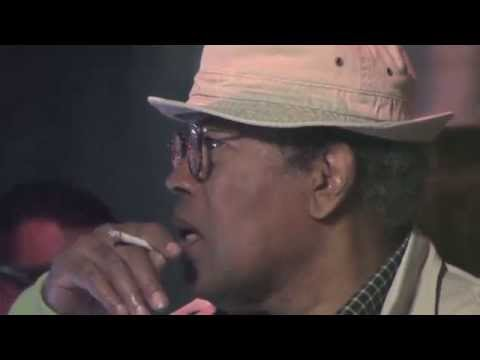 Clarence Williams III At Restaurant in West Hollywood