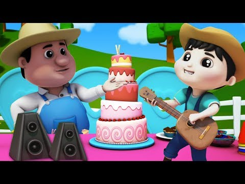 Canção Feliz Aniversário | rima de berçário | aniversário canção para crianças | Happy Birthday Song