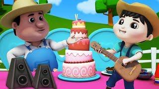 Canção Feliz Aniversário   rima de berçário   aniversário canção para crianças   Happy Birthday Song