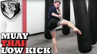 How to Throw a Muay Thai Leg Kick CORRECTLY!