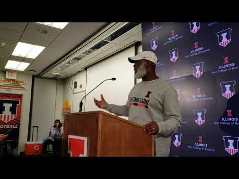 Lovie Smith - postgame Purdue 10/13/18