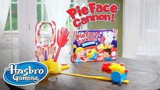 'Pie Face Cannon Game' Official Spot - Hasbro Gaming