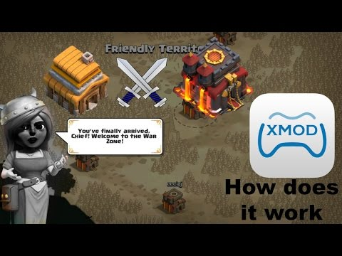 Clash of Clans-HOW TO KNOW IF THE ENEMY CLAN IS MODDING! XMOD OR IMOD IN WAR