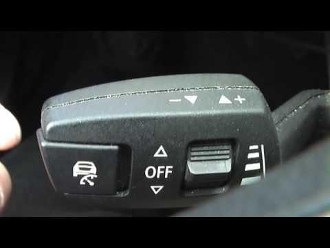 BMW 3er iDrive Tempomat Getriebe Bedienung - YouTube