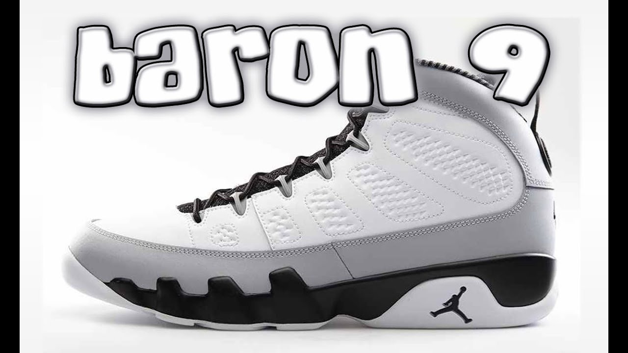 best service 66153 92089 BARON 9 (REAL VS. FAKE) COMPARISON PART 2 - YouTube Air Jordan ...