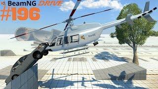 Let's Play BeamNG Drive #196 | Die Hard Heli-Crash [Alpha] [Deutsch] [HD]
