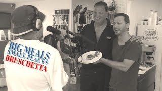 How To Make Easy Three-cheese Bruschetta: Big Meals, Small Places With Sal & Richard