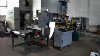 Complete Automatic Aluminum Foil Food Container Machine Machine.MP4