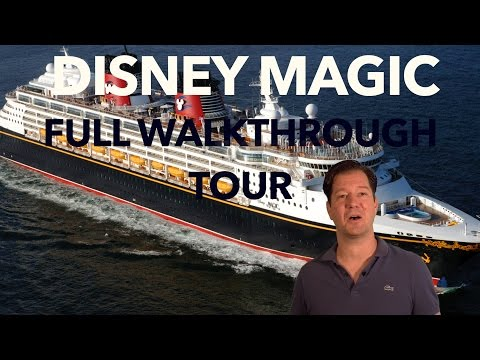 Disney Magic Review - Full Walkthrough - Cruise Ship Tour - Disney Cruise Line