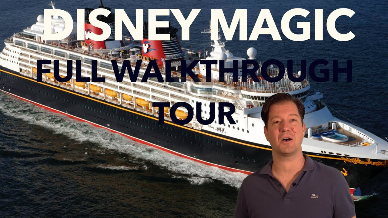 Disney Magic Review Full Walkthrough Cruise Ship Tour