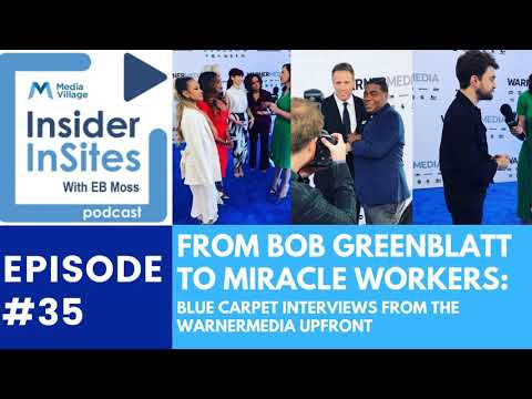 Thumbnail for video of article: From Bob Greenblatt to Miracle Workers: Blue Carpet Interviews from the WarnerMedia Upfront